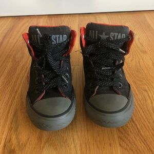 Converse size 13 high top sneakers kids